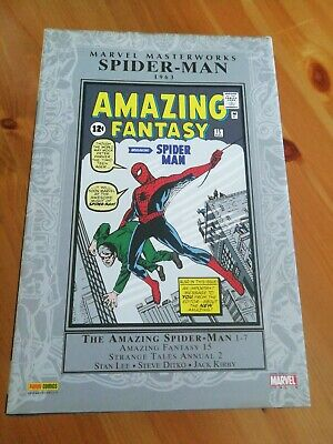SPIDERMAN 1-7 AMAZING FANTASY 15 -1963  LEE, DITKO - MARVEL MASTERWORKS nuovo