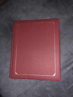 Creative Memories 12 X 15 Red Album BIG Book with Pages NIP Gold Trim
