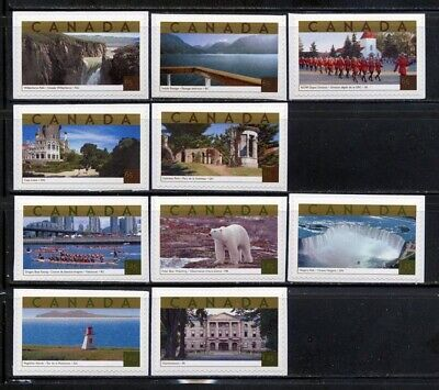 Canada 2003 Tourist Attractions Booklet Singles MNH L#M0048