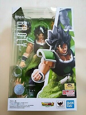 <INSTOCK> Bandai S.H.Figuarts Dragon Ball Super Saiyan Broly Figure SHF Japan