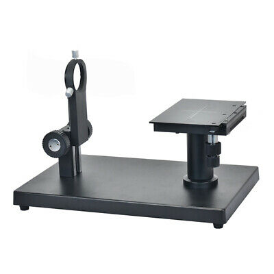 Horizontal Industrial Camera Precision Stage Adjustable Pole Large Base Stand