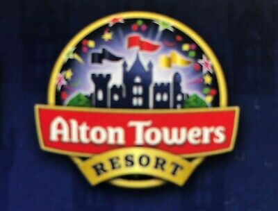 ALTON TOWERS  2 Tickets for SCAREFEST - FRIDAY 18th OCTOBER (18.10.19)