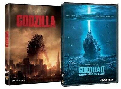 Dvd Godzilla 1-2: King Of The Monsters (2 Film DVD) .......NUOVO