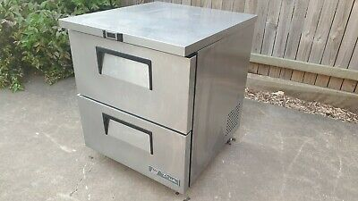 True TUC-27F-D-2-HC Commercial 2 drawer freezer Cafe Restaurant Takeaway