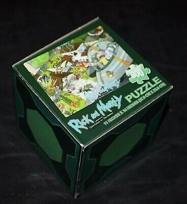 Loot Crate May 2015 Unite - Exclusive Rick And Morty Puzzle 300 Pieces Adult NEW