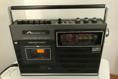 Vintage His Master's Voice Fm/Sw/Mw Radio & Cassette Player