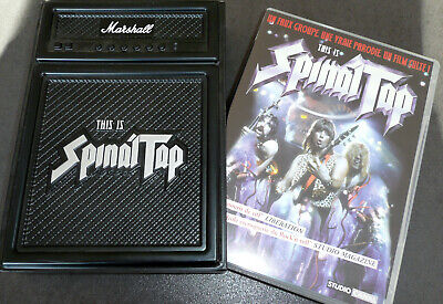 """Coffret DVD/CD """"This is Spinal Tap"""" dans son fourreau - Edition collector"""
