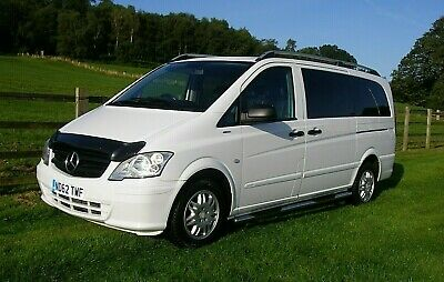 Mercedes Vito 113 Cdi Traveliner Lwb Mini Bus 9 Seater*2013*Super Con*No Vat*
