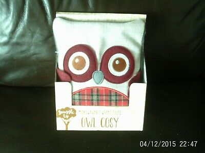 mircowave wheat filled owl cosy