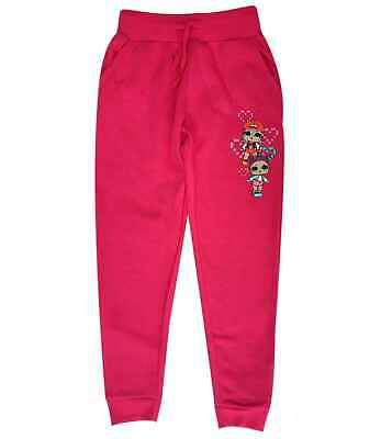 Girls Lol Surprise Fleece Lined Tie Detail Jogger Pant Tracksuit Bottom Age 4-10