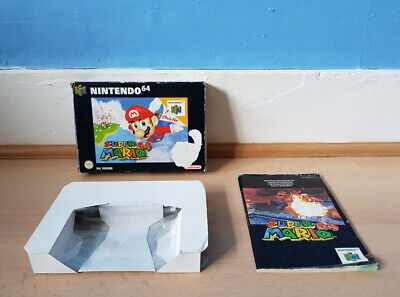 Super Mario 64 N64 Box/Manual+Insert Only No Game