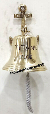 Nautical Ship Bell Titanic Bell 1912 London Hanging Bell Nautical Wall Decor