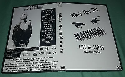 Madonna - Live in Japan 1987 (Who´s that girl tour) DVD Special Fan Edition