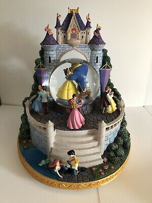 Limited Edition 'Once Upon A Dream' DisneyStore Disney Castle Snowglobe Princess