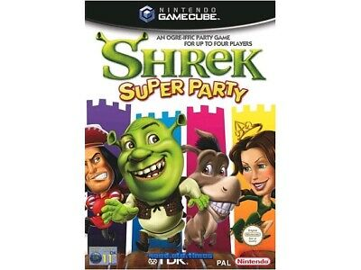 ## Shrek Super Party (Allemand) - Nintendo Jeu Gamecube - Haut ##