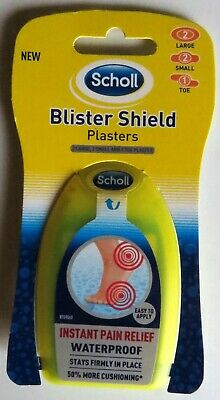 Scholl Blister Shield Plasters Waterproof 5 Plasters