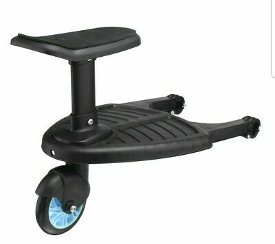 Buggy Board with Toddler Seat - Blue