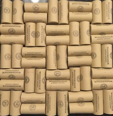 Lot Set of 50 Synthetic Wine Corks (No Champagne) All Same Size Woodbridge Craft
