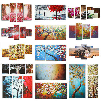 Unframed Tree Modern Art Canvas Abstract Print Painting Picture Home Wall Decor