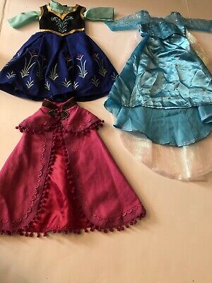 2 Princess Outfits For American Girl Dolls 18 Inch Doll Clothes