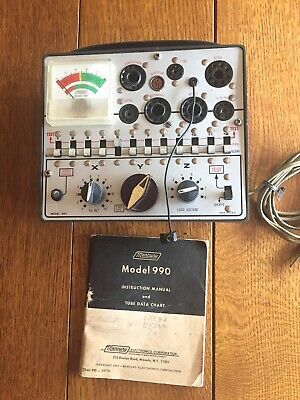 Vintage  Mercury Model 990 Vacuum Tube Tester