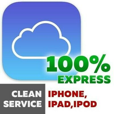 APPLE ICLOUD REMOVAL IPHONE 8 SERVICE  (1-3) Days