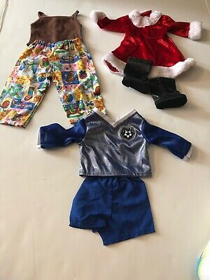 3 Outfits For American Girl Dolls 18 Inch Doll Clothes