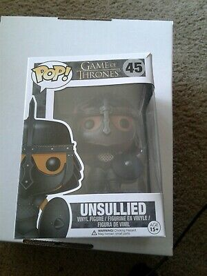 Funko Pop Game of Thrones Unsullied Minor Box Damage