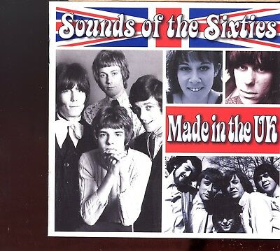 Time Life - Sounds Of The Sixties / Made In The UK - 1 DISC MISSING