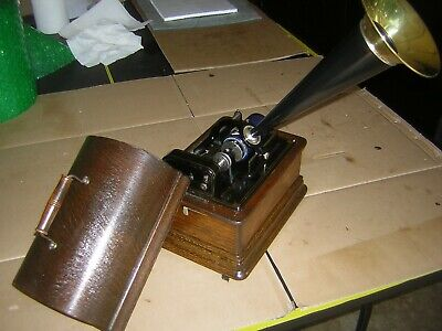 Edison Standard Model D 2/4 Minute Combination Cylinder Phonograph