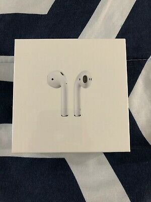 Apple AirPods 2nd Generation w/ Wireless Charging Case - Genuine Factory Sealed!