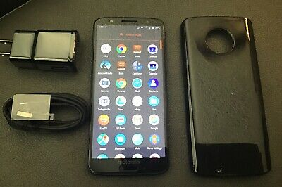 Motorola Moto G6 XT1922 Verizon Unlocked 32gb Smartphone Black Excellent