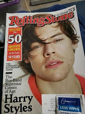 Rolling Stone Magazine May 4 2017 #1386 HARRY STYLES ONE DIRECTION