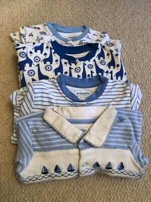 Jojo Maman Bebe Bundle Of Babygrows 6-9m VGC