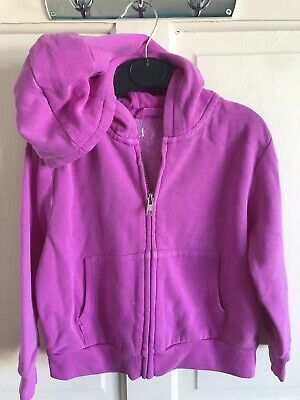 BNWOT Next Hoody. Purple. Lightweight. Girls. Age 4 or 9 Years. Zip Front