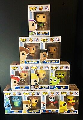 Funko Pop! Toy Story 4 Lot Set of 10 Bundle Buzz,Woody,Alien,Gabby,BoPeep,Jessie