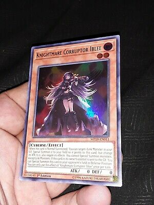Yugioh MP19-EN011 Knightmare Corruptor Iblee Ultra Rare Near Mint 1st Edition