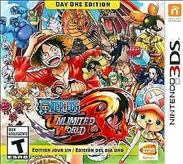 Brand New One Piece: Unlimited World Red -- Day One Edition (Nintendo 3DS, 2014)