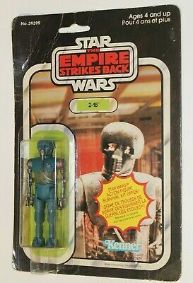 Vintage Star Wars ESB 2-1B MOC CANADIAN CANADA Carded Kenner Irwin 1980 Sealed