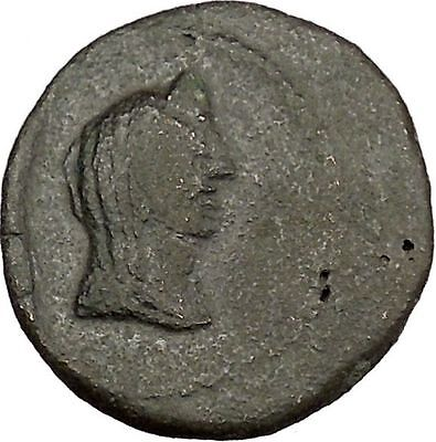 Phanagoria as Agrippia in Bosporus 14BC Livia Aprodite Galley Greek Coin i38366