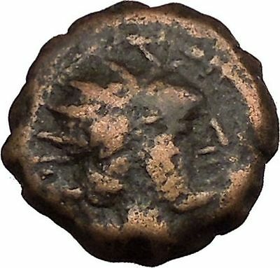 ANTIOCHOS IV EPIPHANES 175BC Ancient Seleucid Greek Coin Veiled goddess  i38736