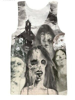 Scary Stories to Tell in the Dark Tank Top Shirt! Very Rare print. Great GIFT