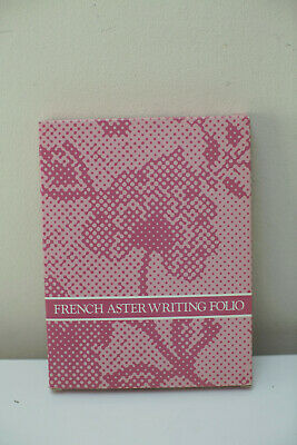 """""""French Aster Writing Folio"""" Gorgeous Avon Vintage Stationery, Perfect Condition"""