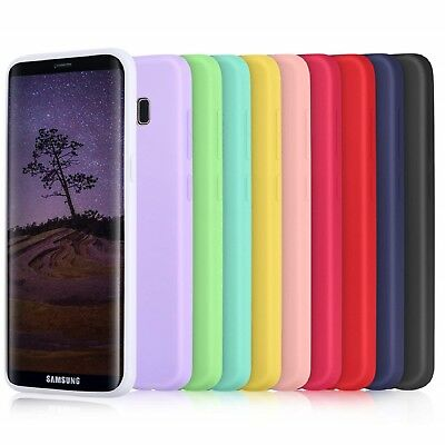 Ultra Slim Lusso Anti-urto Morbido TPU Silicone Case Cover per Samsung Galaxy S9