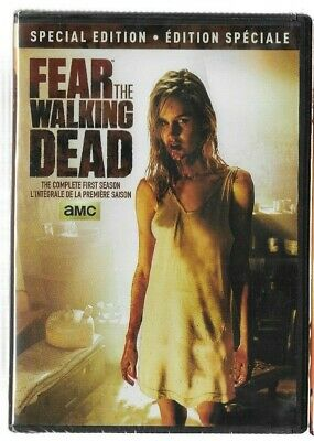 Sealed DVD TV Series - FEAR THE WALKING DEAD - SEASON 1 Special -  Also French
