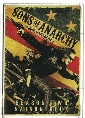 Sealed DVD TV Series - SONS OF ANARCHY  - SEASON 2 -  Also In French
