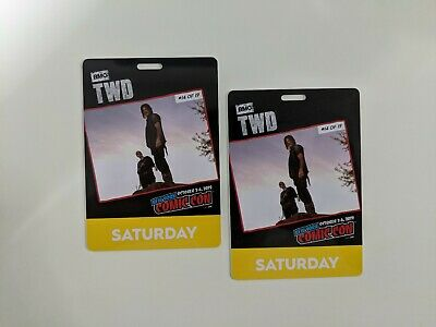 New York Comic Con Saturday Fan Verified & Activated Badge NYCC 2019