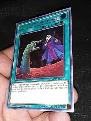 Yugioh! Called by the Grave MP19-EN043 Prismatic  1st  FREE SHIPPING