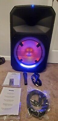 ION Audio Total PA Ultra High-Power Bluetooth PA System with Lights Brand New