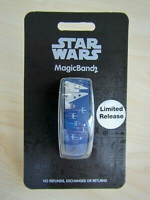 New 2019 Disney Star Wars Magic Band 2 Galaxy's Edge Black Spire Limited Park !
